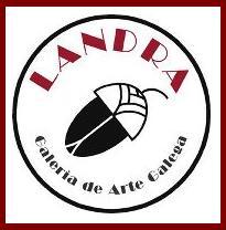 Logotipo de la Galería Landra.