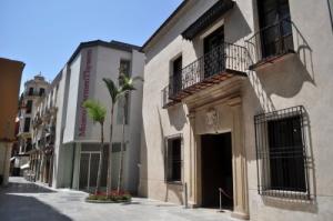 Fotografía del Museo Carmen Thyssen-Bornemisza, en Málaga.