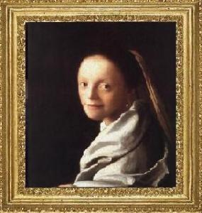 """Muchacha con velo"", (1666-1667)."