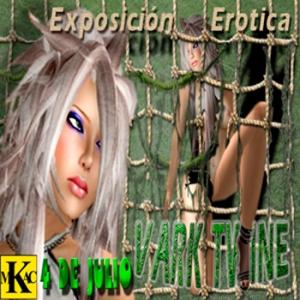 Cartel de la exposición de Vark Twine.