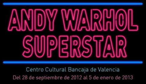 "Cartel de la exposición ""ANY WORL SUPERSTAR"""