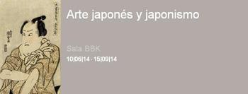 """Cartel de la exposición, en el Museo de Bellas Artes de Bilbao, """"Arte Japonés y Japonismo""""."""