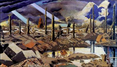 """""""La Ruta Menin"""", (1919)."""