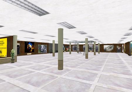 """Panorámica de la exposición del artista Dorian D. Agüero, """"Genterío"""", en el Museo Karura Art Centre, (MKAC)."""