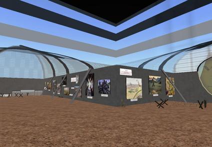 Imagen de esta exposición organizada en las instalaciones del Museo Karura Art Centre, (MKAC).