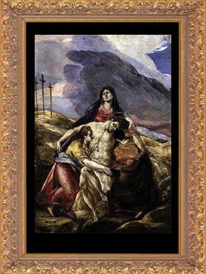 """""""La Piedad"""", (1571-1576)."""