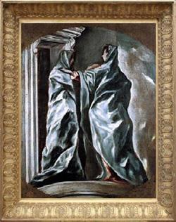 """""""La visitación"""", (1610-1613)."""