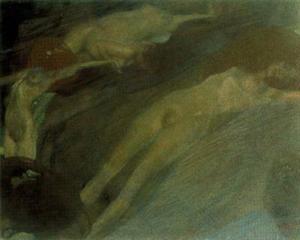 """""""Movimiento del agua"""", (1898)."""