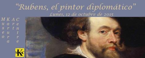"""Cartel de la exhibición """"Rubens, el pintor diplomático"""", en el Museo Karura Art Centre, (MKAC)."""