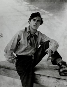 Fotografía de Amedeo Clemente Modigliani.