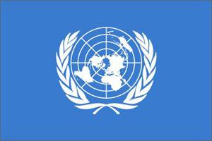 Logotipo de Naciones Unidas.