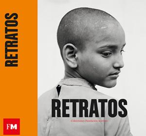 """Cartel de la exhibición """"Retratos. Colecciones Fundación Mapfre de Fotografía""""."""