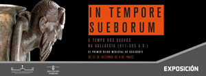 "Cartel de la exposición ""In Tempore Sueborum""."