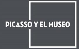 """Cartel de la exposición """"Picasso y el Museo""""-"""